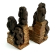Monkey Bookends, Resin.