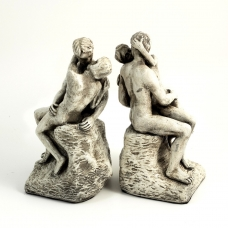 """""""The Kiss"""" Bookends,"""