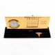 """Dental"", Perpetual Calendar, w/Clock, Gold Plated,"
