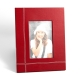 "Frame 4""x6"", Red Leather"