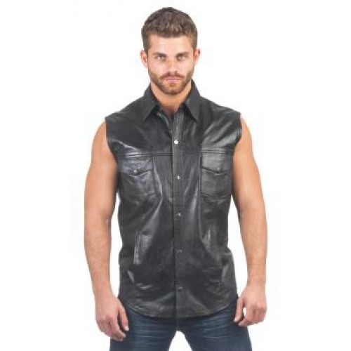 Find great deals on eBay for sleeveless leather shirt. Shop with confidence.