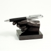 Hand Pen Holder on Marble Base,