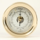 Brass Barometer w/Compass Rose ,