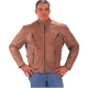 Brown Zipped Jacket