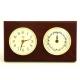 Brass Time, Tide Clocks on Mahogany,