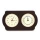 Brass Clock, Tide Clock on Ash Wood,